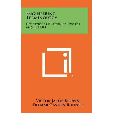Engineering Terminology