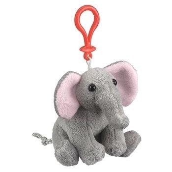 Elephant Plush Elephant Stuffed Animal Backpack Clip Toy Keychain