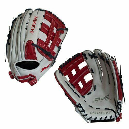 "Miken Pro Series 13/"" PRO130-WSN slowpitch Softball Glove-Main Droite lance"