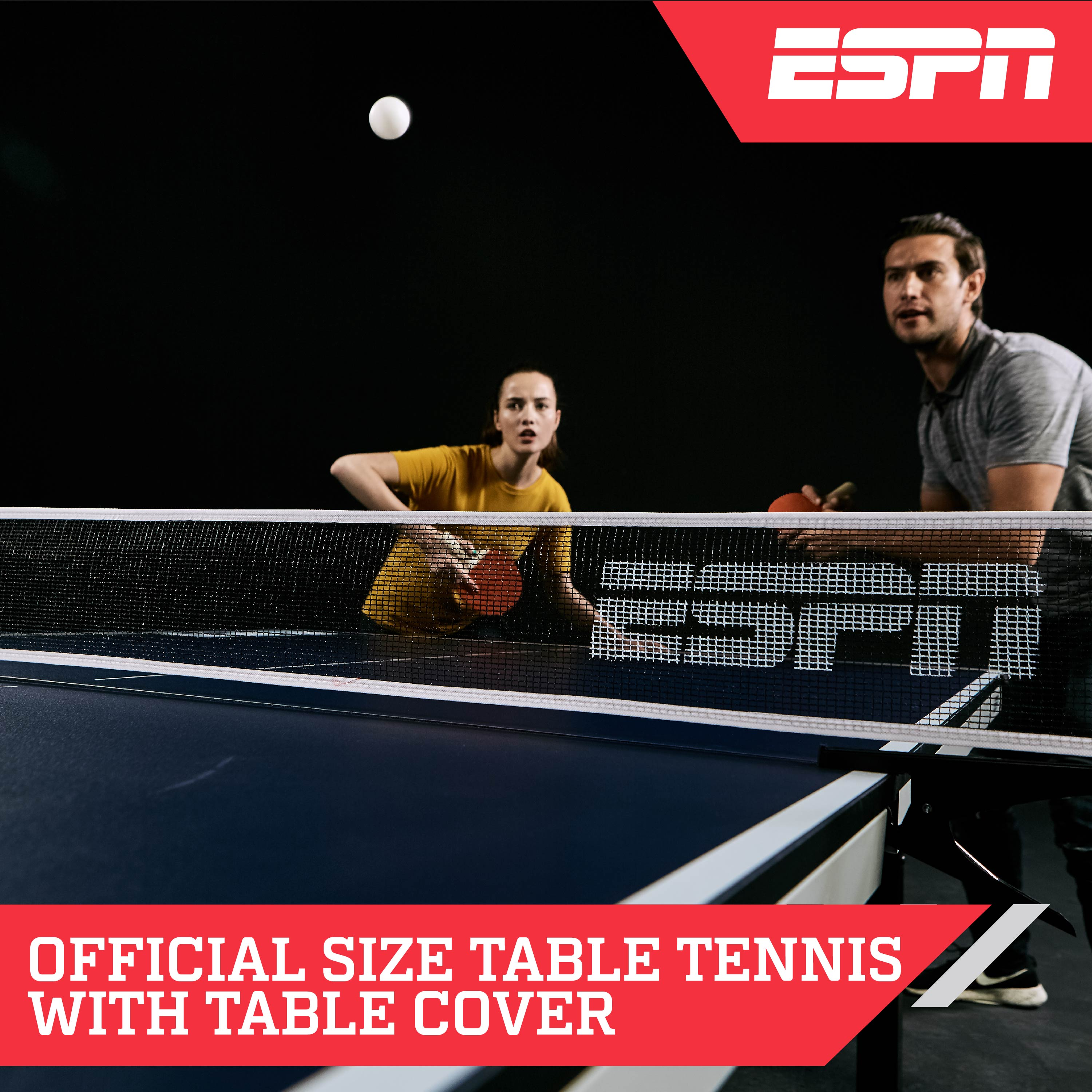 sc 1 st  Walmart & ESPN Official Size Table Tennis Table with Table Cover - Walmart.com