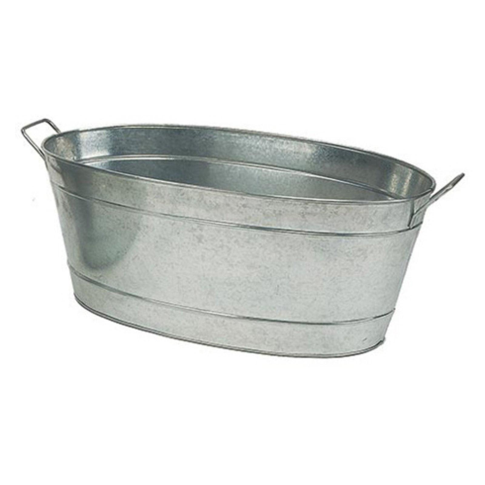 Achla Designs Large Oval Steel Planting Tub
