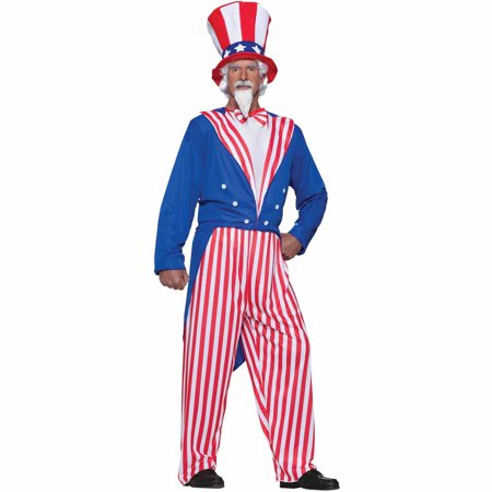 Uncle Sam Men's Adult Halloween Costume for $<!---->
