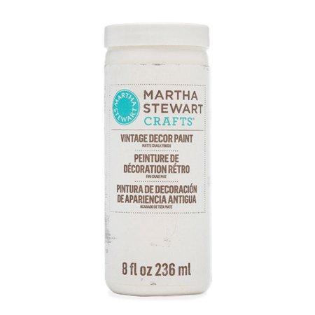 Martha Stewart Crafts Vintage Decor Matte Chalk Paint: Wedding Cake, 8 - Martha Stewart Paint Colors