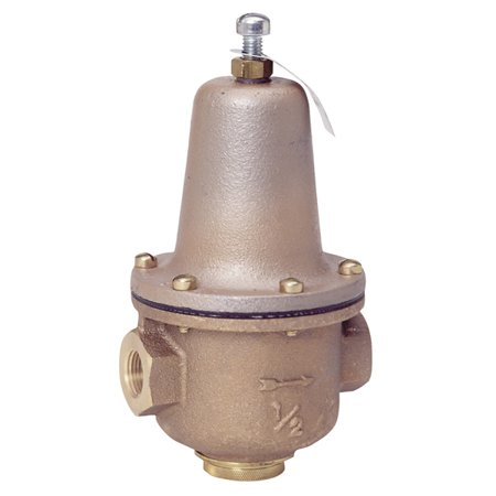 Watts LF223 High Capacity Pressure Reducing Valve with Separate Strainer, 1 Inch, FNPT, 300 psi, Brass Body 300 Psi Safety Valve