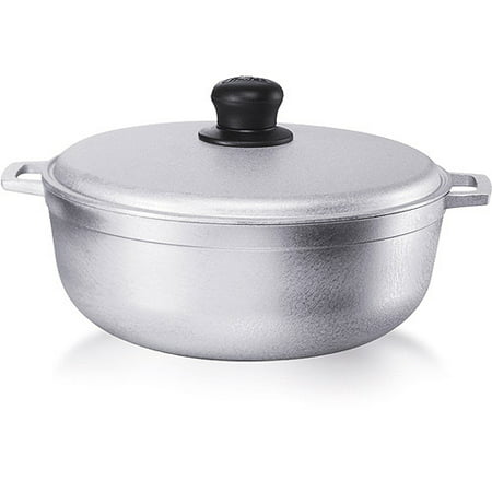 Focus Aluminum Pot (IMUSA USA 6.9 Quart Cast Aluminum)