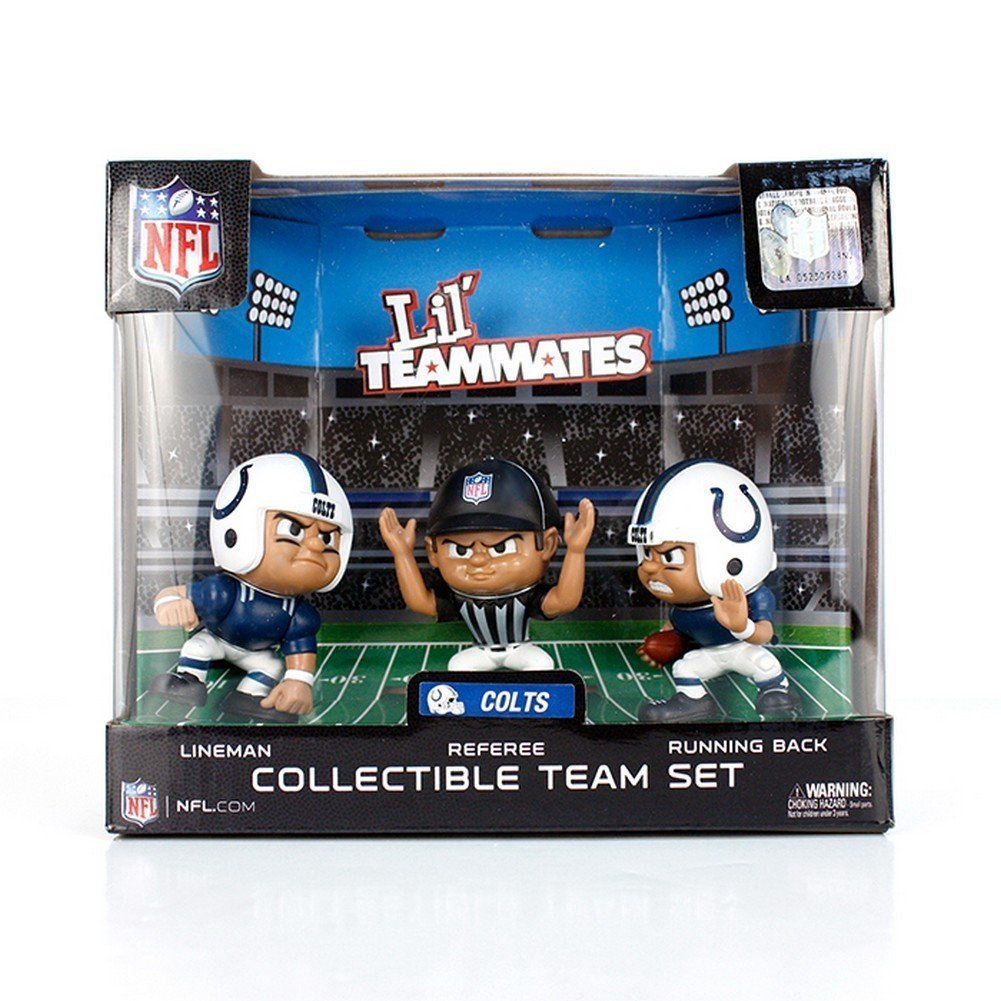 Green Bay Packers Lil Teammates NFL 3-Pack Collectible Team Set
