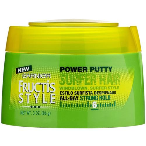 Garnier Fructis Style Surfer Hair Power Putty, Strong Hold 3 oz (Pack of 2)