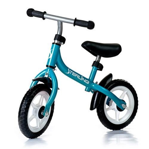 WonkaWoo Ride and Glide Mini-Cycle Balance Bike, Light Blue