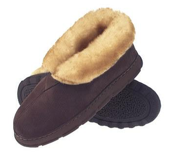 Tamarac by Slippers International Mens Highlander Shearli...