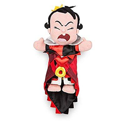 Disney Parks Alice in Wonderland Bhy Queen of Hearts in a Blanket 10 inch Plush Doll NEW