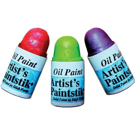 Mini Iridescent Artists Paintstiks 3/Pkg-Sorbet - Lime, Grape & Wa