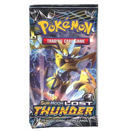 Pokemon Cards - Sun & Moon Lost Thunder - Booster Pack (10