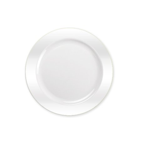 Lillian Dinnerware Magnificense Plastic Plates, 6.25