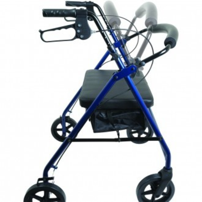 Probasics Heavy Duty Bariatric Rollator Walker, 400 lbs Capacity
