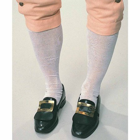 Colonial Halloween Costumes Adults (Colonial Men's Socks Adult Halloween Costume)