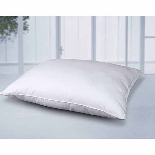 Cottonloft Self Cooling Multi Position Feather Core and Cotton Filled Soft Bed Pillow with Cotton Cover