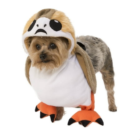 Homemade Pet Halloween Costumes (Star Wars Walking Porg Pet Halloween)
