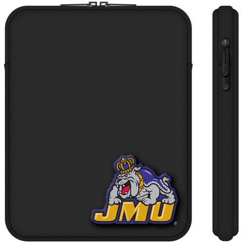 "Centon 10"" Classic Black Tablet Sleeve James Madison University"