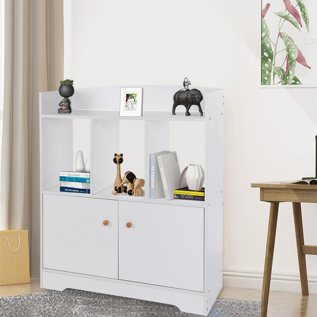 Multifunctional Storage Bookshelf Living Room Study Locker Home Storage Cabinet Walmart Com Walmart Com