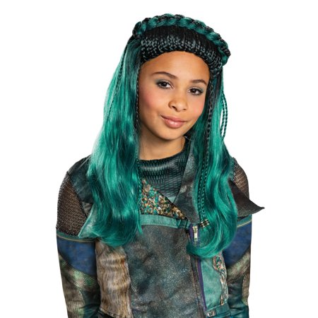 Green Costume Wigs (Halloween Descendants 3: Uma Child)