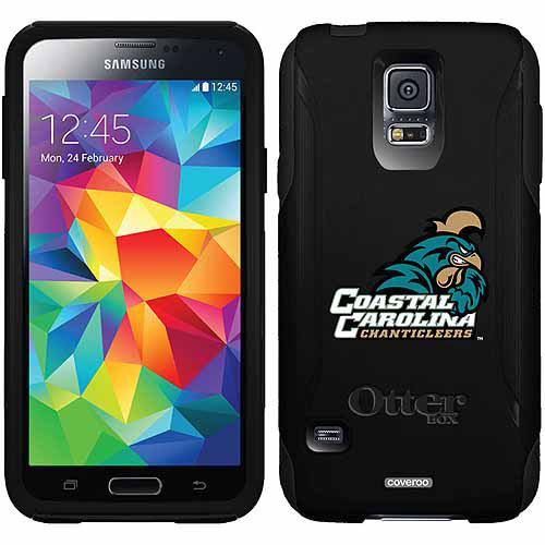 Coastal Carolina Primary Mark Design on OtterBox Commuter Series Case for Samsung Galaxy S5