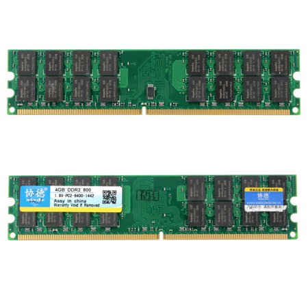 2x4GB DDR2 800Mhz PC2-6400 DIMM 240Pin For AMD CPU Desktop Memory RAM Chip 6400 Ddr2 Sdram 240 Pin