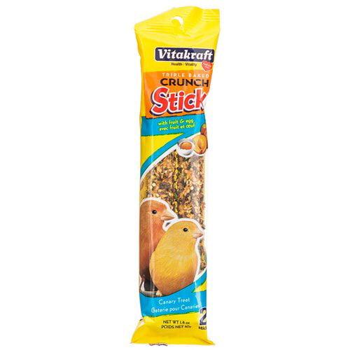Vitakraft Canary Crunch Sticks - Fruit & Egg