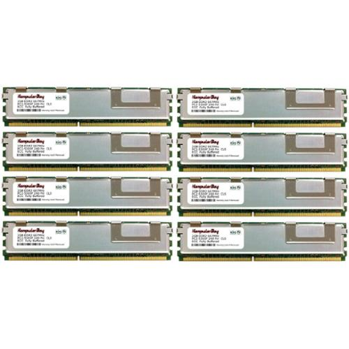 KOMPUTERBAY 16GB (8X2GB) Certified 800MHz Memory for Apple 2008 Xserve 2.8GHz, 3.05GHz MB093G/A