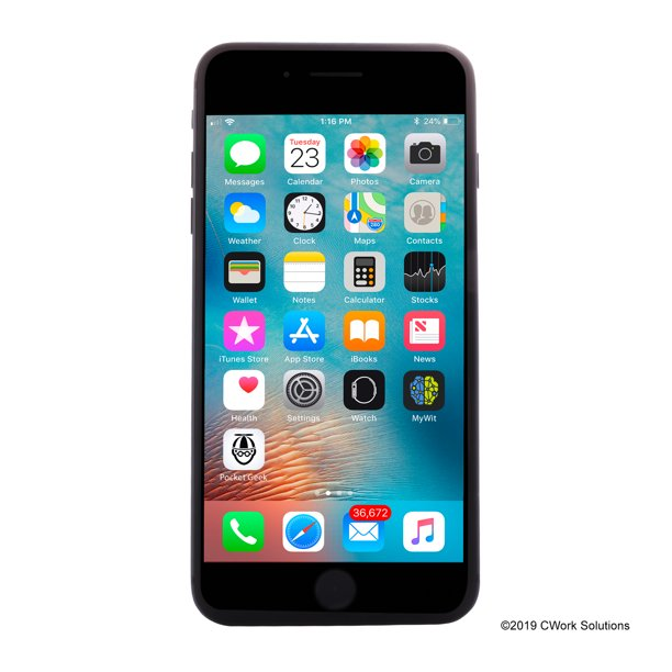 Apple Iphone 8 Plus 256gb Space Gray For Verizon Renewed Walmart Com Walmart Com