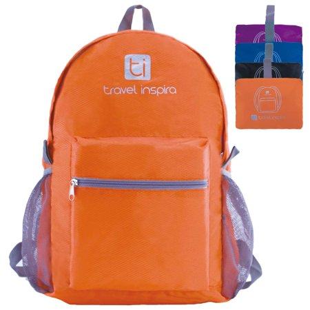 Travel Inspira Ultralight Handy Travel Backpack Water Resistant Packable Backpack For Hiking Daypack Lightweight Foldable (Outlander Large Packable Handy Lightweight Travel Backpack Daypack)