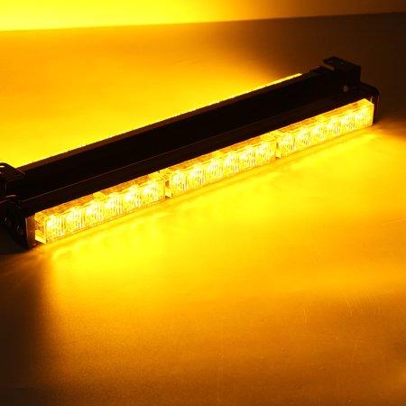 Warning Beacon Led Side 36 Amber Work Bar Lamp Double Truck Strobe Car Emergency Light Flashing H9beE2WYDI