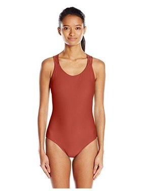 f7b52a35c3a0b Product Image Body Glove Women's Smoothies Crossroads Multi Strap Back One  Piece SZ LARGE