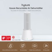 Youpin Hysure Air Dehumidifier Recyclable Shoe Cabinet Bookcase Wardrobe Wireless Dryer Moisture Absorber -mildew With Charge Drying Base