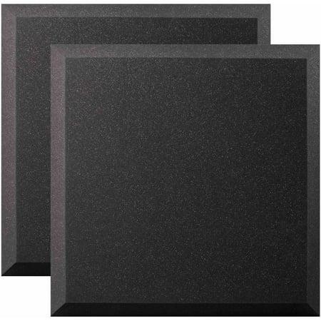 - Ultimate Acoustics UA-WPB-24 Wall Panel Acoustic Foam, 1 Pair