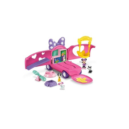 fisher-price disney minnie mouse bowtique minnie's pet tour van - Minnies Bowtique