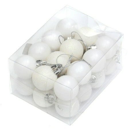 ENJOY 24pcs Christmas Tree Baubles Balls Decor Ornament Xmas Wedding Party Decorations