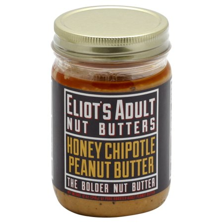 Eliot's Adult Nut Butters - Honey Chipotle Peanut Butter, 12oz Honey Chipotle Glaze