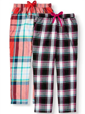 Secret Treasures Women's and Women's Plus 2-Pack Flannel Sleep Pants