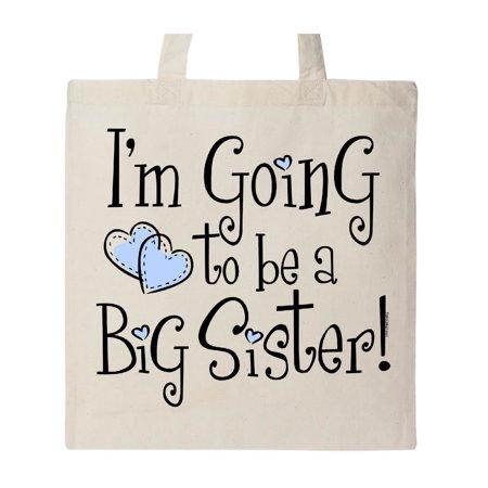 Big Sister Natural - Heart New Big Sister Tote Bag Natural One Size