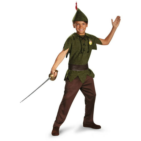 Peter Pan Disney Child Halloween Costume](Plus Size Peter Pan Costume)