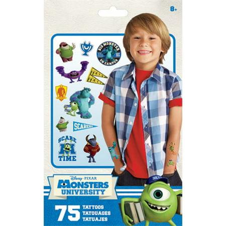 Standard Tatto Bag - Monsters University - Temporary Kids Games Toys tt2043 - Monster Tattoo