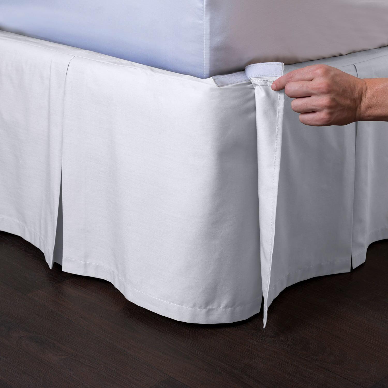 Ashton Detachable Pleated Bed Skirt