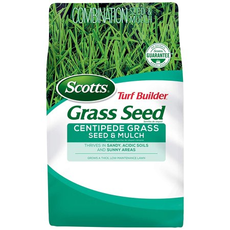 Turf Builder Grass Seed - Centipede Grass Seed and Mulch, 5-Pound