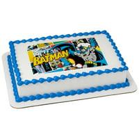Batman POP! 1/4 Sheet Image Cake Topper Edible Birthday Party