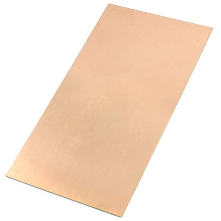 Amplifier Circuit Board - Unique Bargains FR4 Copper Clad Laminate PCB Circuit Board 13x25cm 1.3mm Thickness