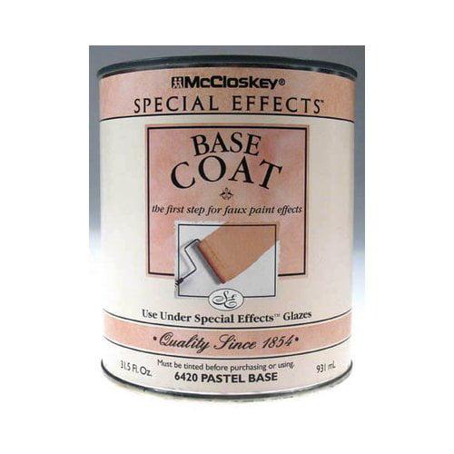Valspar 1 Quart McCloskey Special Effects Pastel Base Coat 80-6420-05 QT