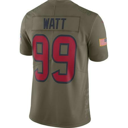 14752f694cb Men s Nike J.J. Watt Olive Houston Texans Salute To Service Limited Jersey  - Walmart.com