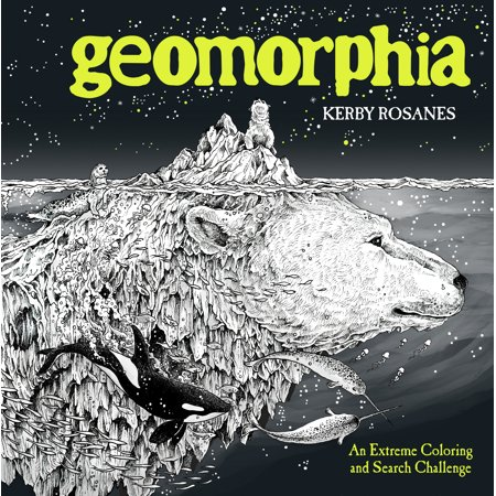 Geomorphia : An Extreme Coloring and Search - Challenging Halloween Coloring Pages