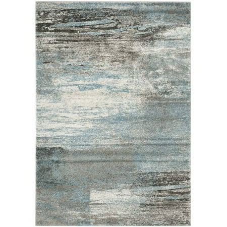 Safavieh Tahoe Gray Light Blue Area Rug Walmart Com