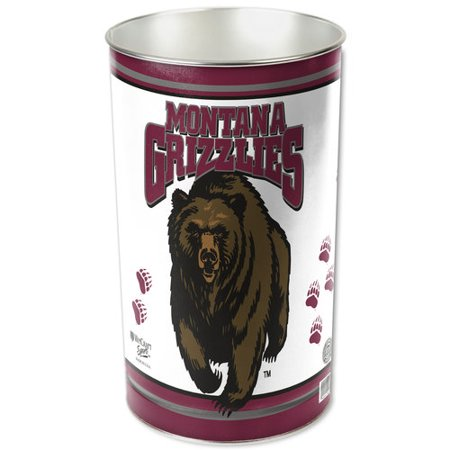 Wincraft Wastebasket - American Logo Products Montana Grizzlies Wastebasket